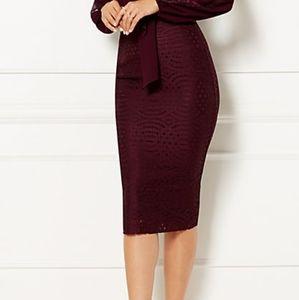 NWOT Size 8 New York & Company Eyelet Skirt
